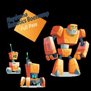 Nerdvana Robotics Bootcamp Full Pass